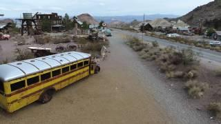 DJI Phantom 4 - Imagini din Nelson Ghost Town Nevada