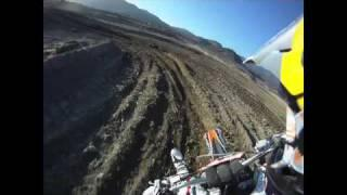 GoPro HD HERO camera: Ronnie Renner at the MX Track