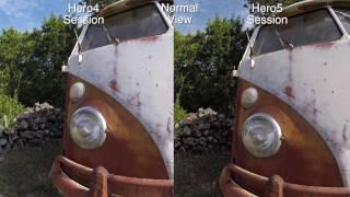 GoPro Hero5 Session Vs Hero4 Quality Comparison