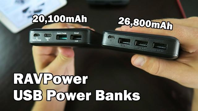 Portable Power from your Palm - RAVPower USB Power Banks