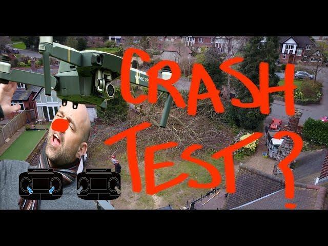 Trying to CRASH the DJI MAVIV PRO..Its HARD!!