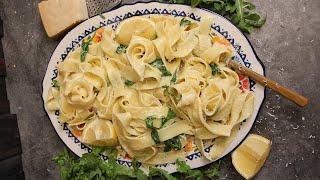 """Pasta di Crema al Limone """"with Lemon and Cream"""""""