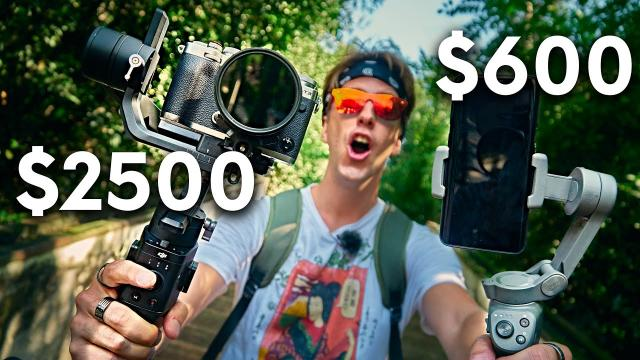 DJI Osmo Mobile 3 or Ronin SC? Comparison, pros and cons!