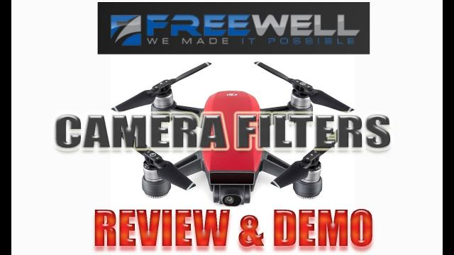 DJI SPARK - FREEWELL ND and Polarized Filter Review/Demo