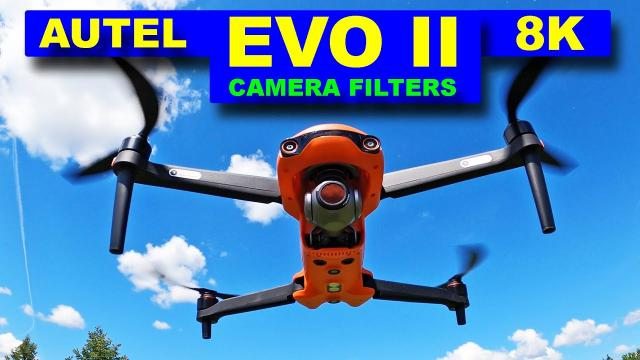 Autel EVO II 8K Drone - Camera Filters (ND & Polarized) - Review - Freewell