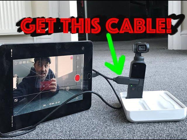 THIS £6 Cable makes the DJI OSMO POCKET AMAZING
