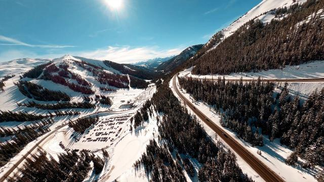 Breath of Fresh Air | FPV in the Colorado Mountains (flight footage only)