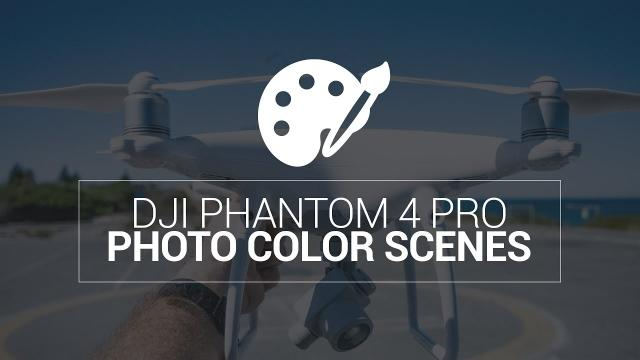 Phantom 4 Pro Color Scenes for Photography - Every Profile with Histogram for JPEGs