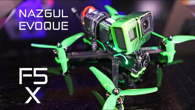 The Most Popular FPV Drone - iFlight NAZGUL Evoque F5 - Review