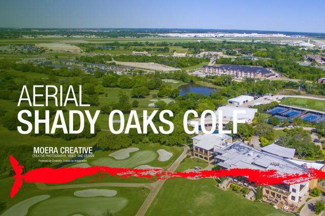 DJI Inspire 1 - Aerial of Shady Oaks Golf Course