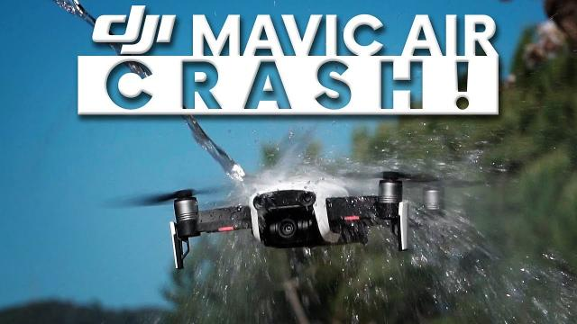 DJI MAVIC AIR CRASH!!!