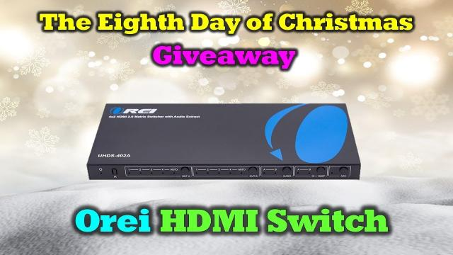 Day 8 Giveaway - Drone Valley Christmas - HDMI Switcher!