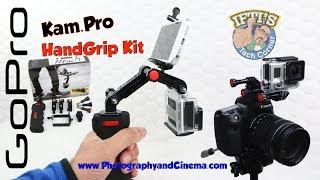 KamPro Hand Grip / Handle Kit For GoPro - Review