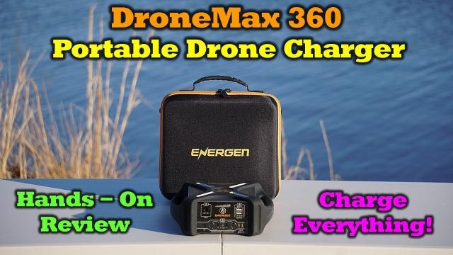 First Look - Energen DroneMax 360 Portable Charger - The Complete Hands-On Review
