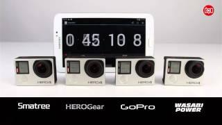 The Ultimate GoPro Hero4 Battery Comparison Test - GoPro, Wasabi Power, Smatree and HeroGear