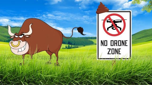 NO DRONE ZONES are BS - Setting legal precedents