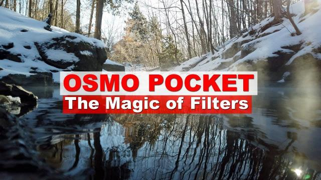 Fun with LENS FILTERS and the DJI OSMO POCKET - Unleash the Potential