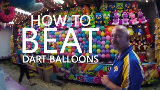 How To BEAT a Carnival Dart Game with Technology