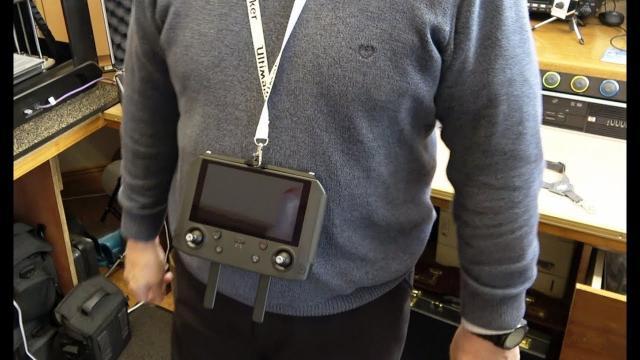 DJI Mavic 2 Smart Controller 3D Printed Harness Mount