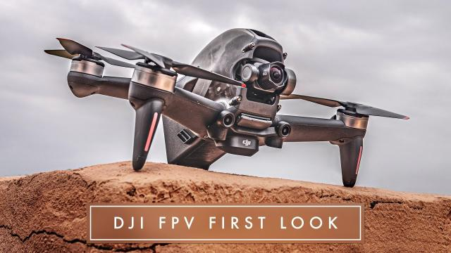 DJI FPV - A CINEMATIC FPV DRONE THAT ANYONE CAN FLY? ⚡