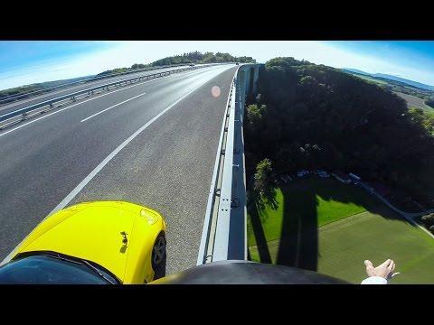 GoPro: Sports Car BASE Jump