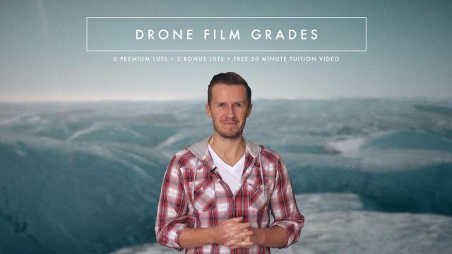(PROMO) Drone Film Grades || 6 Cinematic LUTs + 2 BONUS LUTs + FREE 50 Minute Tuition Video