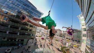GoPro Fusion: BANDALOOP in Budapest Overcapture