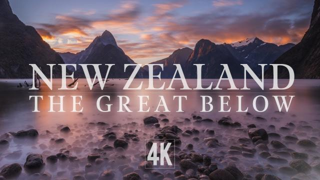 New Zealand - The Great Below (4K ProRes Drone Footage)