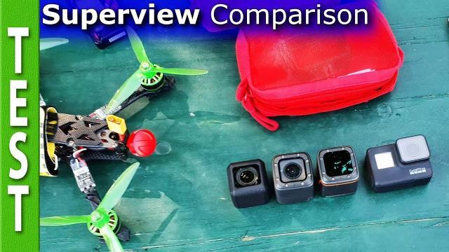 Superview comparison (Foxeer Box2, Runcam5, Gopro 7)