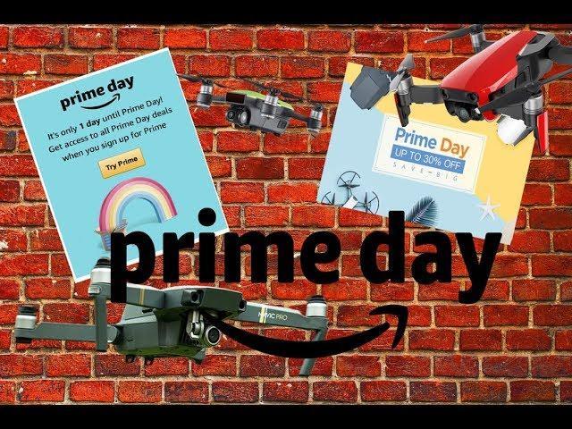 Amazon Prime Day DJI Drone SALE 16th July 2018