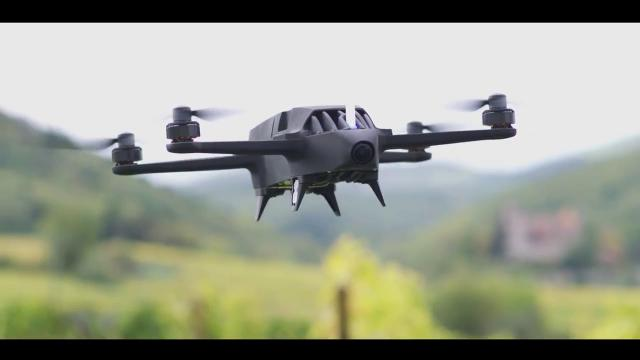 DJI MG1P AGRAS Agriculture Spraying Drone Over View!