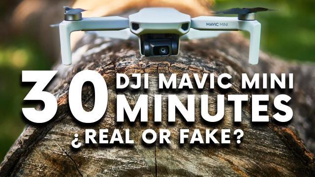 DJI MAVIC MINI Battery Flight Test