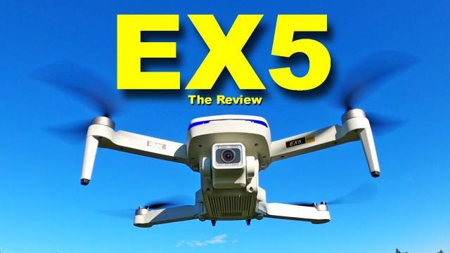 The BUDGET DJI Mavic Mini Drone - 4K Eachine EX5 under 250 grams - Review