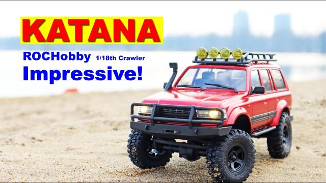 Wow! This RC Crawler is Darn Good - KATANA ROC HOBBY Review