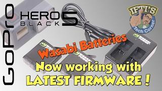 Third Party Wasabi Batteries now WORKING with GoPro Hero 5 Black LATEST FIRMWARE!
