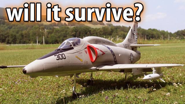 A4 Skyhawk - Maidenflight...