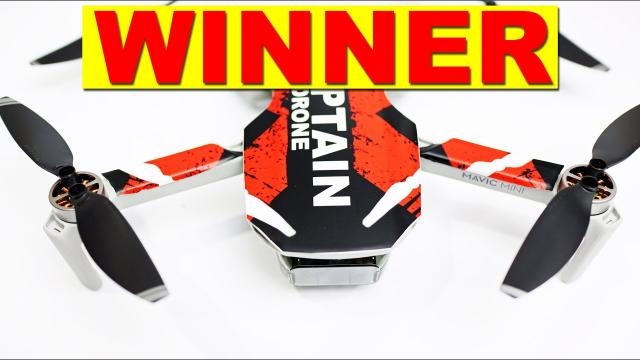 WINNER of the DJI Mavic Mini Contest