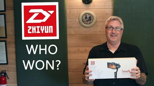 Ken Heron - ZHIYUN Phone Gimbal Winner REVEAL