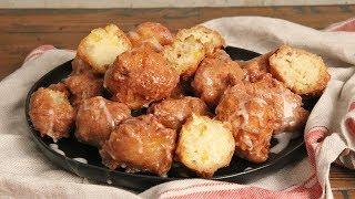 Peach Fritters with Whisky Glaze   Ep. 1275