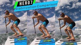 GoPro Hero7:  White Silver Black Stabilization Comparison! - GoPro Tip #639