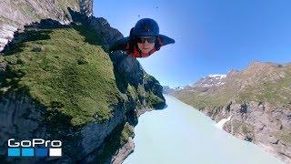 GoPro: Scenic Wingsuit Flight Over Dam