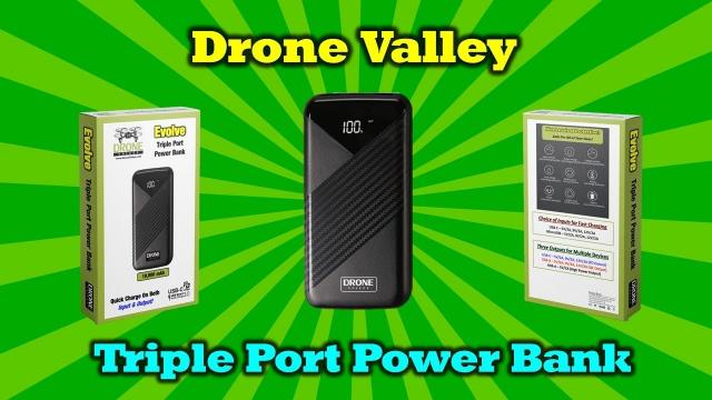 One Power Bank To Charge All Your Portable Devices! - Drone Valley Gear
