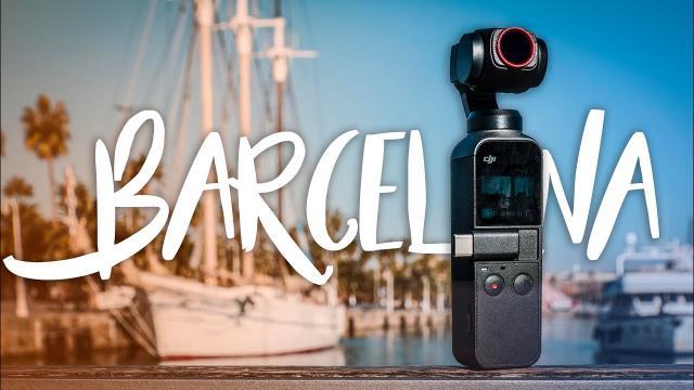 4K CINEMATIC BARCELONA DJI OSMO POCKET + Filters