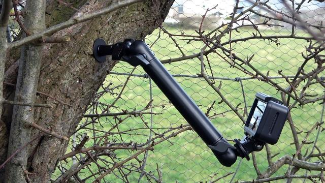 Heavy Duty Outdoor Trial Camera Action Tree Screw Drill Mount
