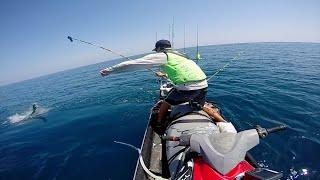 JetSki Fishing for Cobia & Mahi  |  GoPro