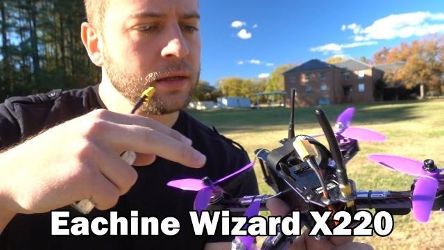 My First Flight - Eachine Wizard X220 - PART 2