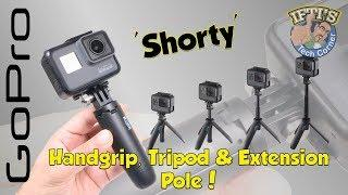 GoPro Shorty - The Super Small Handgrip / Tripod / Extension Pole - REVIEW
