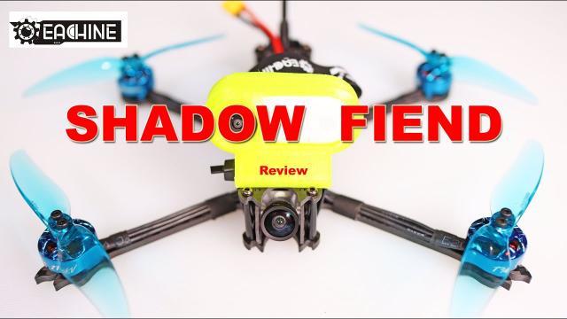 Impressive! Eachine Shadow Fiend Long Range FPV Drone - Review