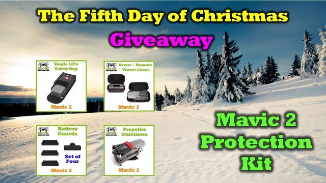 Free Mavic 2 Gear - 12 Days of Drone Valley Christmas Giveaways 2019