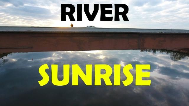 CLOUDS in the River - Cinematic Drone flight (Ken Again)